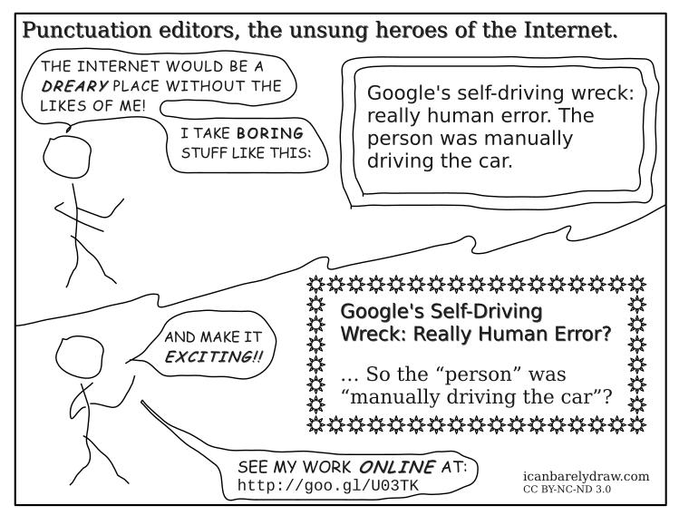 Punctuation Editor