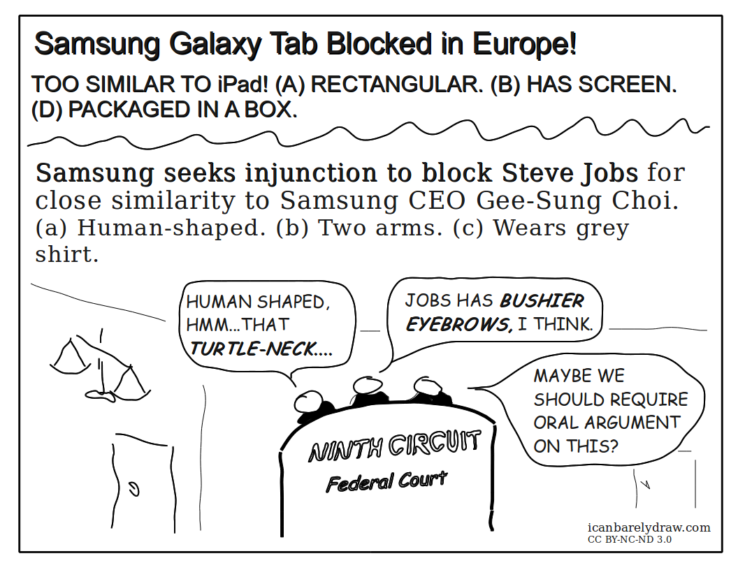 Samsung Seeks Injunction