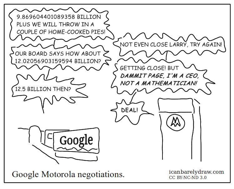 Google Motorola Negotiations