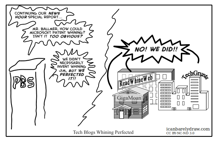Tech Blogs Whining Perfected