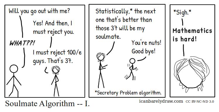 Soulmate Algorithm — I