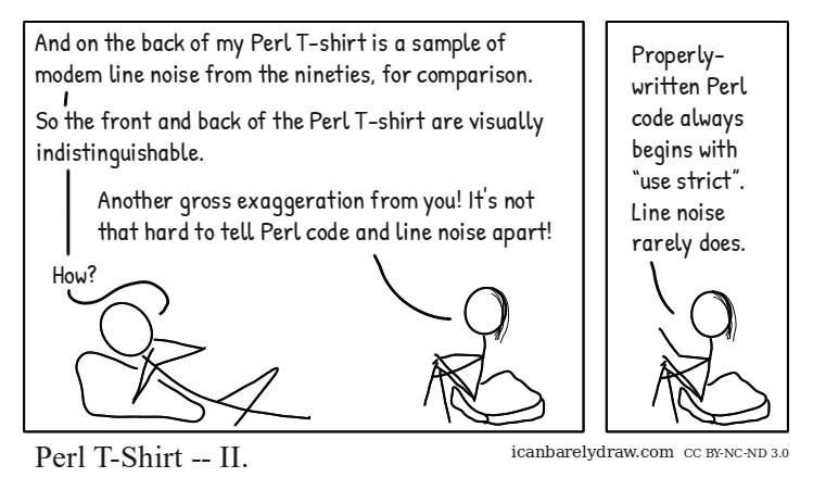 Perl T-Shirt — II