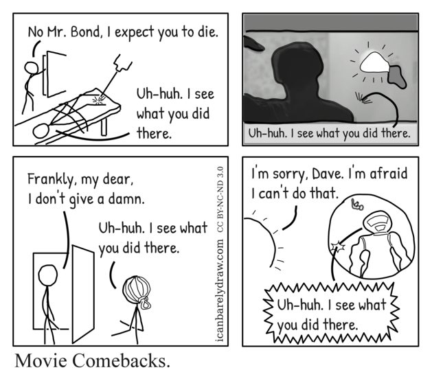 Movie Comebacks