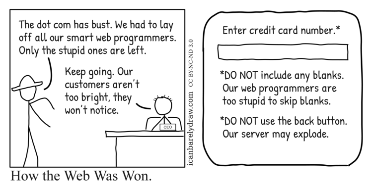 How the Web Was Won