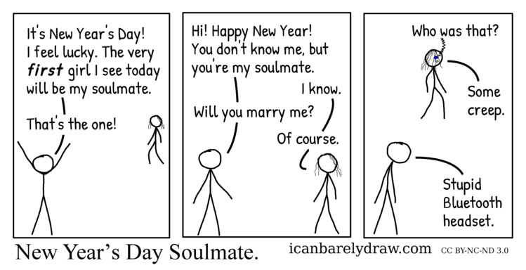New Year's Day Soulmate