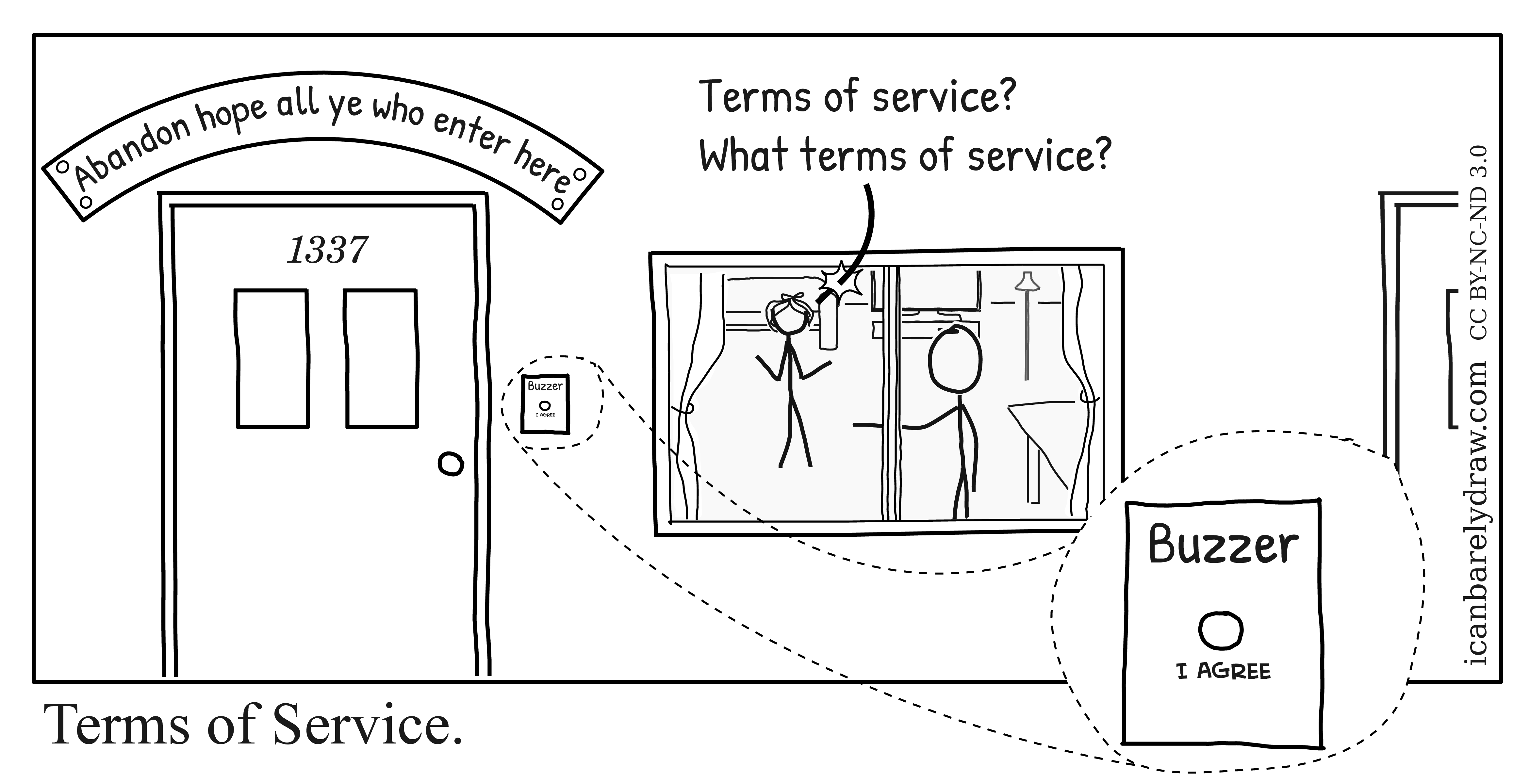 Can Barely Draw  Terms of Service